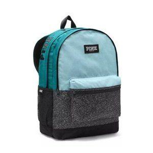 PINK Victoria's Secret Campus Backpack, Light Blue